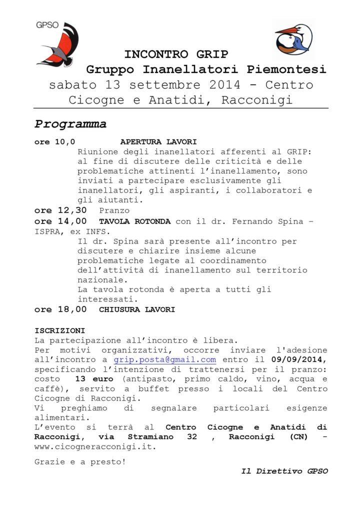 Locandina x GRIP13settembre2014
